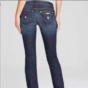 Hudson Dark Wash Pocket Flap Jean 27